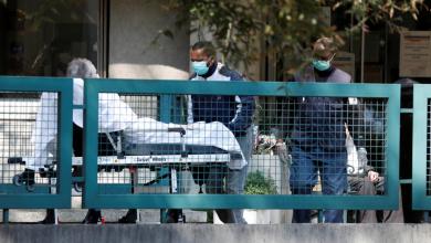 صورة تحلل جثث 30 مسناً توفوا بكورونا في فرنسا