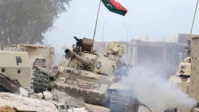 صورة قوات الجيش الوطني تصد هجوماً في محور عين زارة