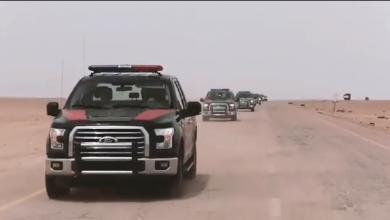 """Photo of """"أمن سرت"""" يدعم عمليات الجيش العسكرية بدوريات متحرّكة"""