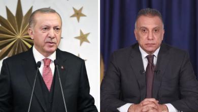 Photo of أردوغان يهنئ الكاظمي ويبحثان سبل التعاون بين البلدين
