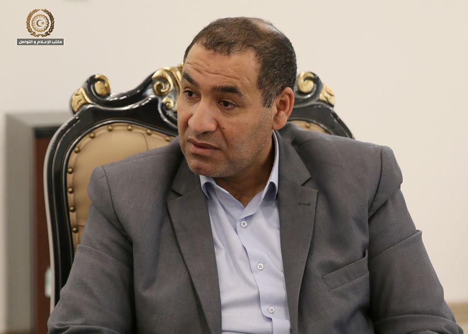 الدكتور فوزي بومريز - وزير التعليم بالحكومة الليبية
