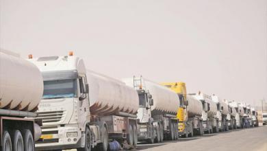 """Photo of """"البريقة"""" ترسل شحنات وقود للجنوب من مستودعات بنغازي"""