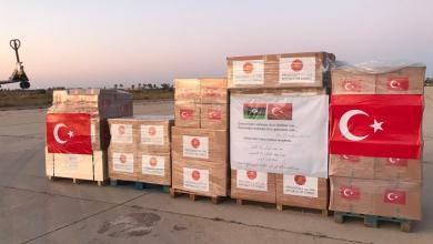 صورة مطالبات بإيقاف تدفق البضائع التركية إلى ليبيا