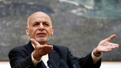 """صورة الرئيس الأفغاني يعرض على طالبان """"محادثات سلام"""""""