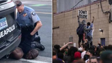 """Photo of """"جرح العنصرية"""" يهز أميركا.. والعنف يجتاح الشوارع"""