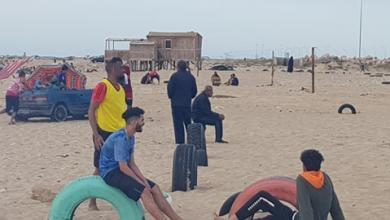 Photo of مباراة ودية تجمع نجوم الكرة الشاطئية في بنغازي