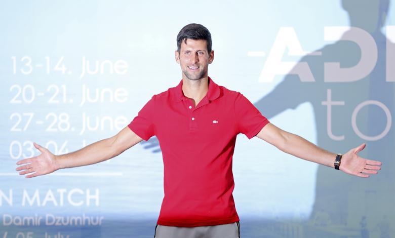 Photo of دجيكوفيتش يستعد للمشاركة في بطولات أدريا