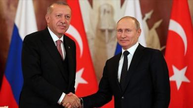 Photo of بوتين وأردوغان يُعبّران عن قلقهما من التصعيد في ليبيا