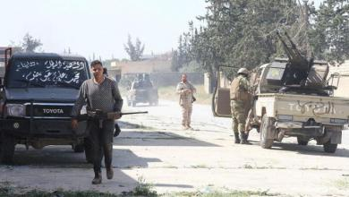 """صورة إصابة مدنيين.. ومحاور """"مشتعلة"""" على تخوم طرابلس"""