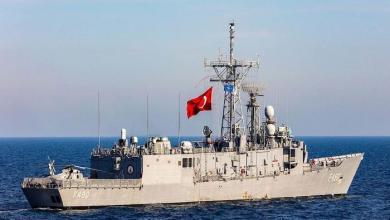 Photo of مهمة تدريبية لقطع بحرية تركية شرق المتوسط