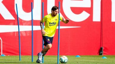Photo of نجوم برشلونة يستأنفون التدريبات