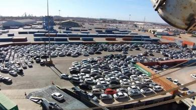 Photo of وصول 2000 سيارة كورية لميناء مصراتة