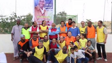 Photo of مباراة استعراضية لتأبين سعد مسعود في سرت