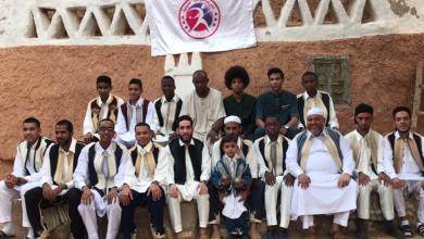 صورة نادي غدامس للكرة الحديدية يحتفل بالعيد