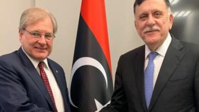 Photo of نورلاند للسراج: يجب وقف تدفق الأسلحة والمرتزقة إلى ليبيا