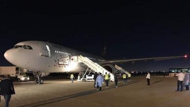 صورة وصول دفعة من الليبيين العالقين في أسبانيا إلى مصراتة