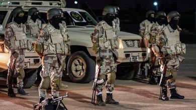 صورة الجيش الوطني يرسل بفرقة مختصة بحرب الشوارع -((صور))