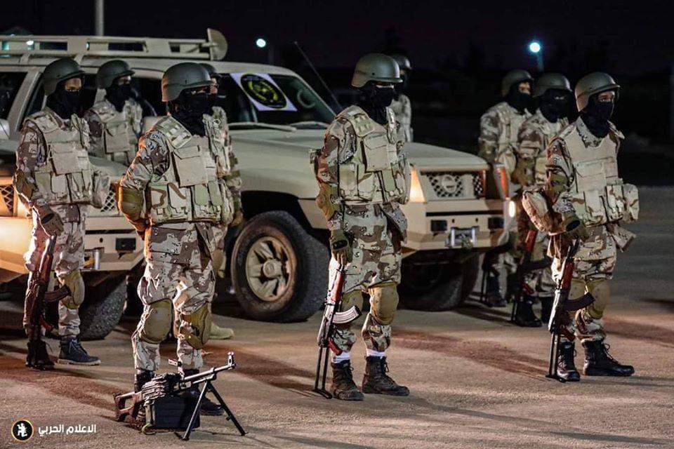 تحرك قوة تابعة لكتيبة طارق بن زياد المقاتلة متخصصة بحرب الشوارع إلى المحاور