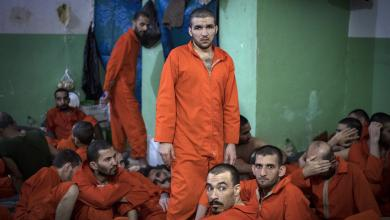 صورة إفشال تمرد في أحد سجون داعش بمحافظة الحسكة السورية