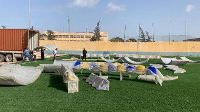 Photo of صيانة ملعب أبوسليم تصل مراحلها الأخيرة