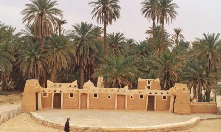 مدينة درج - 550 كم جنوبي شرق طرابلس