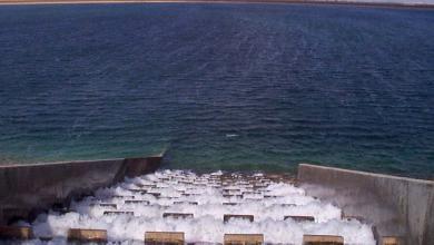 """صورة """"النهر الصناعي"""" :يصعب تحديد زمن وصول المياه لــ""""طرابلس"""""""