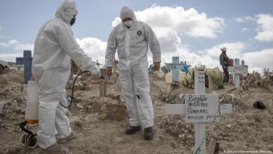 Photo of كورونا.. أكثر من 334 ألف وفاة وأمريكا تنكس أعلامها