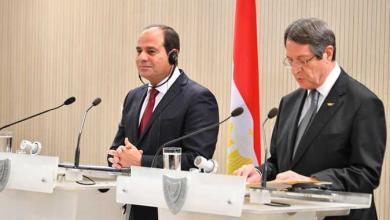 """الرئيسان المصري عبدالفتاح السيسي واليوناني نيكوس آنستسيادس-""""أرشيفية"""""""