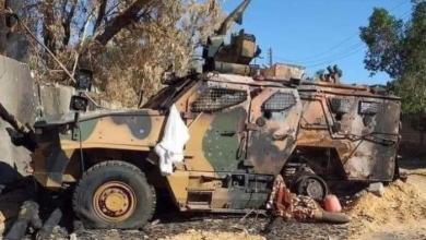"""Photo of قوات الجيش تدمر آليات عسكرية """"تركية"""" قرب الأصابعة"""