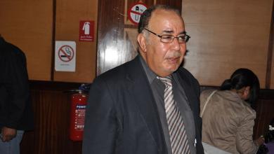 صورة وفاة الفنان الليبي مصطفى المصراتي