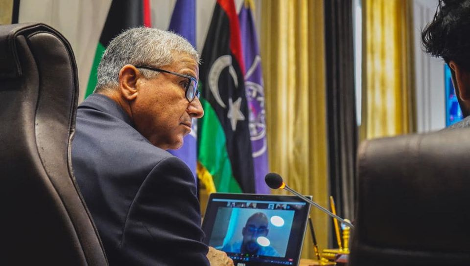 فتحي باشاغا وزير داخلية الوفاق يجتمع عن بعد مع مسئولين أوروبيين