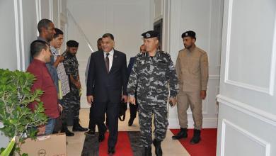 """Photo of """"داخلية الوفاق"""" تقف على مدى جاهزية إدارة العمليات الأمنية"""