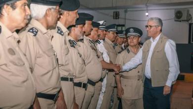 Photo of باشاغا يزور مقر البحث الجنائي طرابلس لمناقشة الملفات الأمنية