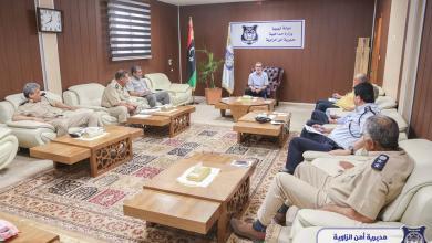 Photo of مديرية أمن الزاوية تعقد اجتماعا مصغرا حول تفعيل البحث الجنائي والنجدة