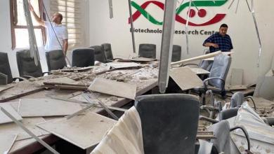 صورة طرابلس .. سقوط قذائف على مركز التقنيات الحيوية بالفرناج