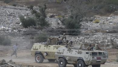 صورة الجيش المصري..سقوط 10 جنود بين قتيل وجريح في انفجار عبوة شمال سيناء