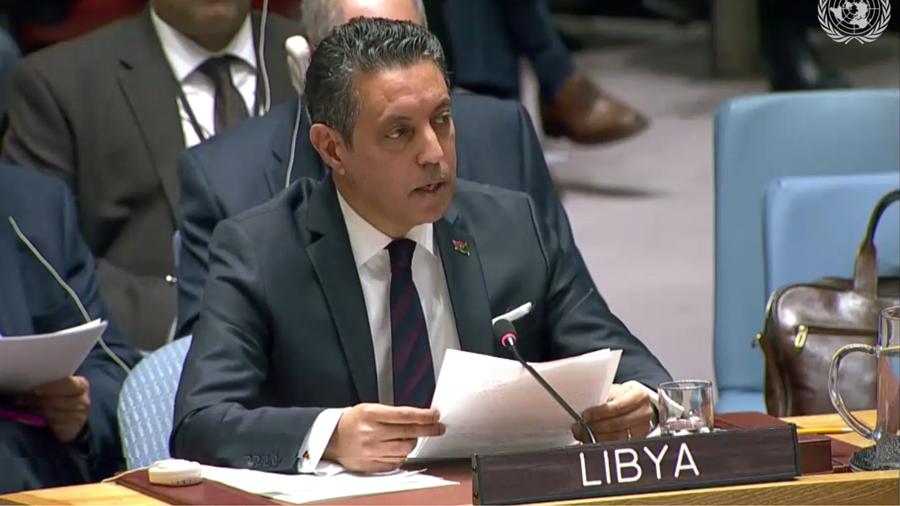 مندوب ليبيا لدى الأمم المتحدة الطاهر السني