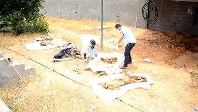 Photo of الهلال الأحمر الزنتان ينتشل 4 جثث لعائلة واحدة
