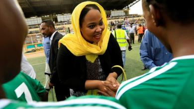 Photo of إصابة ولاء البلوشي وزيرة الرياضة في السودان بكورونا