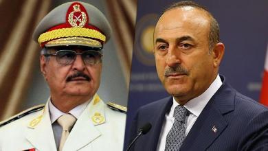 """صورة أوغلو: """"الحل الوحيد في ليبيا هو الحل السياسي وحفتر بحاجة لفهم ذلك"""""""