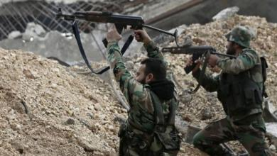 صورة اشتباكات بين النظام السوري وفصائل متطرفة
