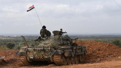 """صورة """"معارك شرسة"""" بين الجيش السوري وتنظيم إرهابي"""