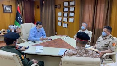 Photo of السراج يبحث تعزيز التنسيق مع آمري المناطق العسكرية