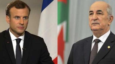 Photo of توافق جزائري فرنسي بشأن الأزمة الليبية