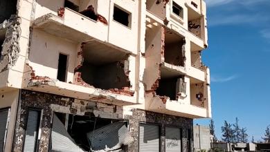 "Photo of صور توثق ""دمارا كبيرا"" أنتجته حرب طرابلس"