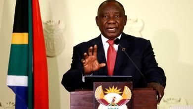 Photo of جنوب أفريقيا ترحب بمبادرة القاهرة لحل أزمة ليبيا