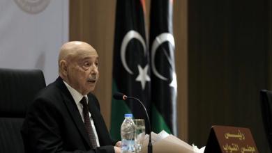 صورة عقيلة صالح: إعلان القاهرة الأقرب لحل الأزمة الليبية