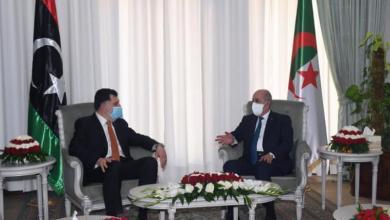 Photo of السراج يبحث الأزمة الليبية مع الرئيس الجزائري