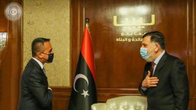"""Photo of السراج يلتقي بـ """"دي مايو"""" في طرابلس"""