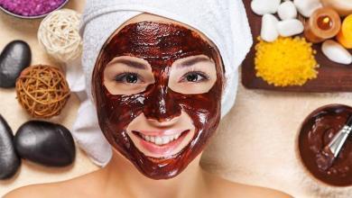 صورة ماسك الشوكولا لبشرة نضرة خالية من التجاعيد